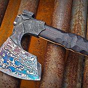 Сувениры и подарки handmade. Livemaster - original item Forged axe handmade Seasoned. Handmade.