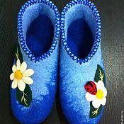 """Обувь ручной работы. Ярмарка Мастеров - ручная работа Валенки """"Ромашки"""". Handmade."""