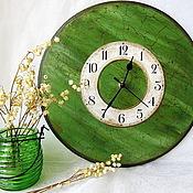 """Часы ручной работы. Ярмарка Мастеров - ручная работа Часы """"Изумрудное настроение"""". Handmade."""