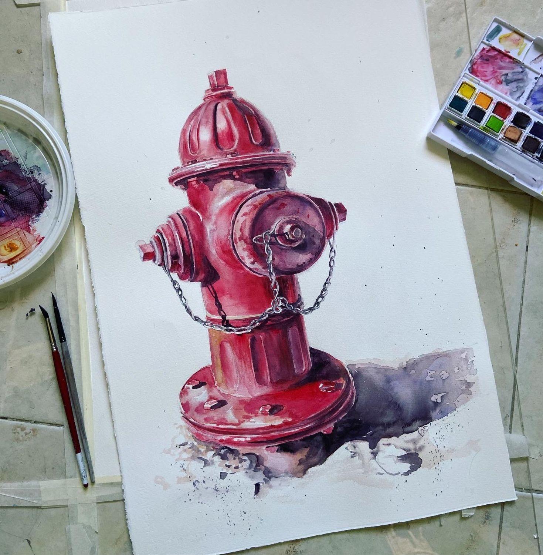 Red guy, Картины, Москва,  Фото №1