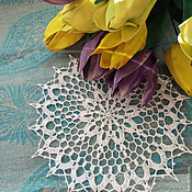 Для дома и интерьера handmade. Livemaster - original item The napkin is