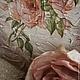 """Картины цветов ручной работы. Ярмарка Мастеров - ручная работа. Купить панно """"Розы в тумане"""". Handmade. Розы, подарок женщине"""