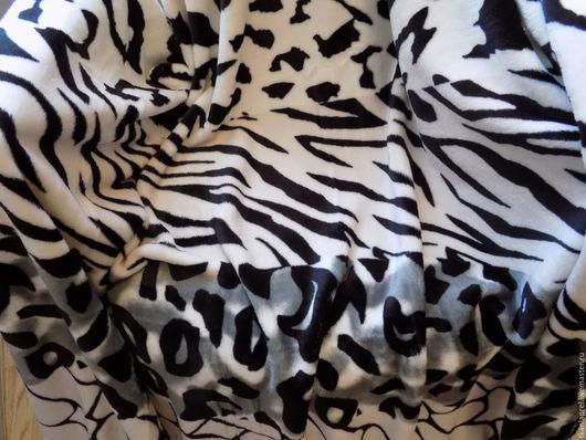 Текстиль, ковры ручной работы. Ярмарка Мастеров - ручная работа. Купить Плед из микрофибры. Handmade. Плед, принт, полоска