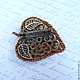 The reverse side of the brooches. Bright autumn brooch autumn accessory. Brooch of handwork of stones and beads. Brooch - leaf. The brooch on the coat, the brooch on the dress, the brooch on the sweat