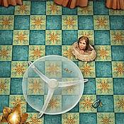 """Картины и панно ручной работы. Ярмарка Мастеров - ручная работа Фотосказка """"Алиса в стране чудес. Ключ от дверцы"""". Handmade."""
