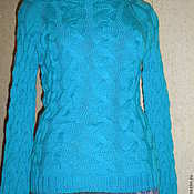 Одежда handmade. Livemaster - original item pullover with slit in back. Handmade.