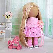 """Куклы и игрушки ручной работы. Ярмарка Мастеров - ручная работа Текстильная интерьерная кукла """"Зефирка"""". Handmade."""