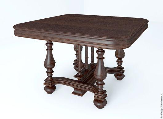 Визуализация стола.  Дизайнер Соловьева Регина http://www.livemaster.ru/avrora333555