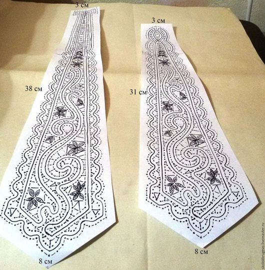 Другие виды рукоделия ручной работы. Ярмарка Мастеров - ручная работа. Купить сколок галстука  2 в 1. Handmade.