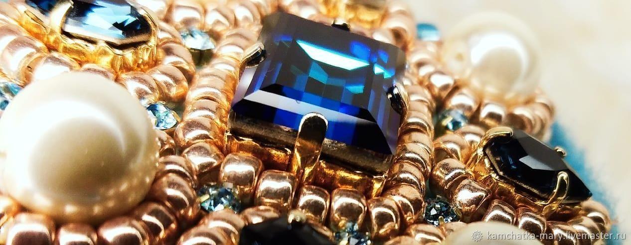 Zafiro pendant brooch in the box, Brooches, Elizovo,  Фото №1