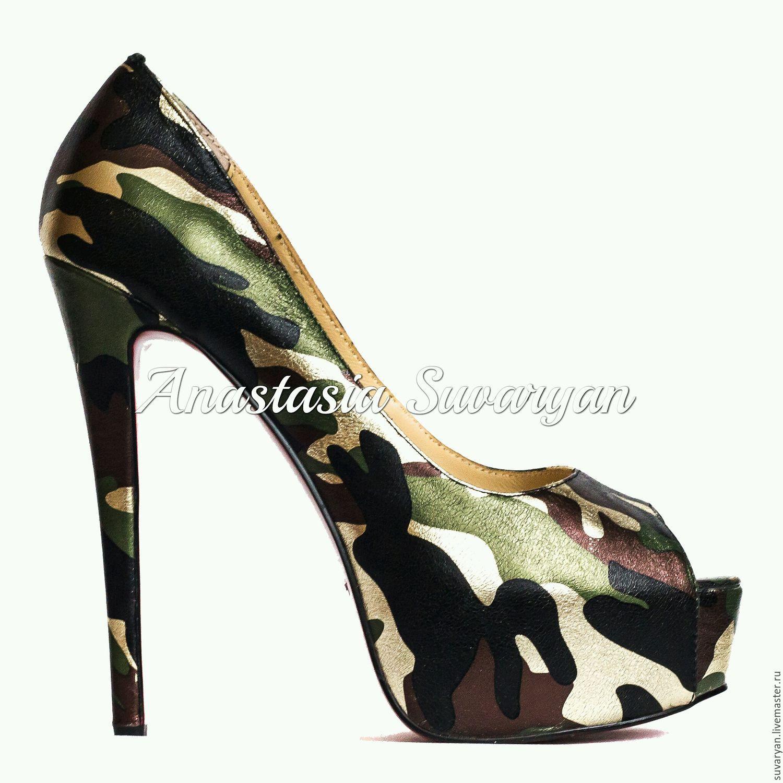 Shoes 'Military', Shoes, Barnaul,  Фото №1