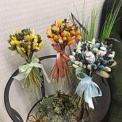 Букеты ручной работы. Ярмарка Мастеров - ручная работа Букет сухоцветов с лавандой. Handmade.