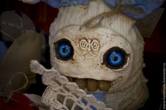 Сказочные персонажи ручной работы. Ярмарка Мастеров - ручная работа. Купить Luna. Handmade. Глаза, винтажный стиль, странный