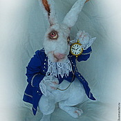 Мягкие игрушки ручной работы. Ярмарка Мастеров - ручная работа Мартовский заяц. Handmade.