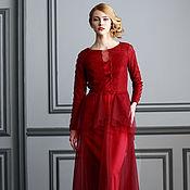 """Одежда ручной работы. Ярмарка Мастеров - ручная работа """"Эммануель""""  вечернее платье. Handmade."""