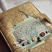 Photo albums handmade. Livemaster - original item Diary for the baby. Handmade.