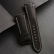 Украшения handmade. Livemaster - original item Calf leather watchband (05). Handmade.