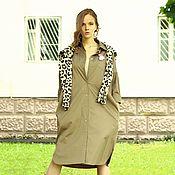 Одежда ручной работы. Ярмарка Мастеров - ручная работа Платье FREEDOM в кофейном цвете. Handmade.