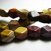 Материалы для творчества handmade. Livemaster - original item Jasper Flourite diamond, faceted cube 9h11. Handmade.