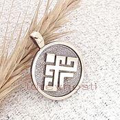Русский стиль handmade. Livemaster - original item Rozhanitsa Slavic amulet 2 amulet made of metal. Handmade.