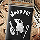Bags & Accessories handmade. Livemaster - handmade. Buy The image (business card) 'yo-Ho-Ho'.Black