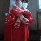 Статуэтки ручной работы. Девочка с чемоданом (не фея:))). Фея, похожая на вас (Анна Черных). Интернет-магазин Ярмарка Мастеров.