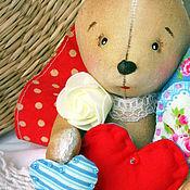Куклы и игрушки ручной работы. Ярмарка Мастеров - ручная работа Самый сердечный зая) Кофейная игрушка.. Handmade.