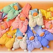 Куклы и игрушки ручной работы. Ярмарка Мастеров - ручная работа вальдорфские куклы  для самых маленьких. Handmade.
