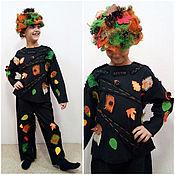 Карнавальный костюм ручной работы. Ярмарка Мастеров - ручная работа Костюм лешего детский новогодний лесовик, старичок-лесовичок. Handmade.