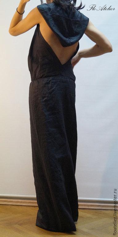 Платья ручной работы. Ярмарка Мастеров - ручная работа. Купить Повседневное платье/Элегантное пляжное платье/F1434. Handmade. Черный, платье для девочки