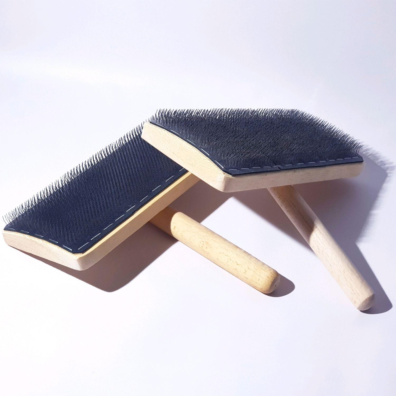 Карды ручные (чески) для миксования шерсти и волокон. Инструмент, Инструменты для валяния, Днепр,  Фото №1
