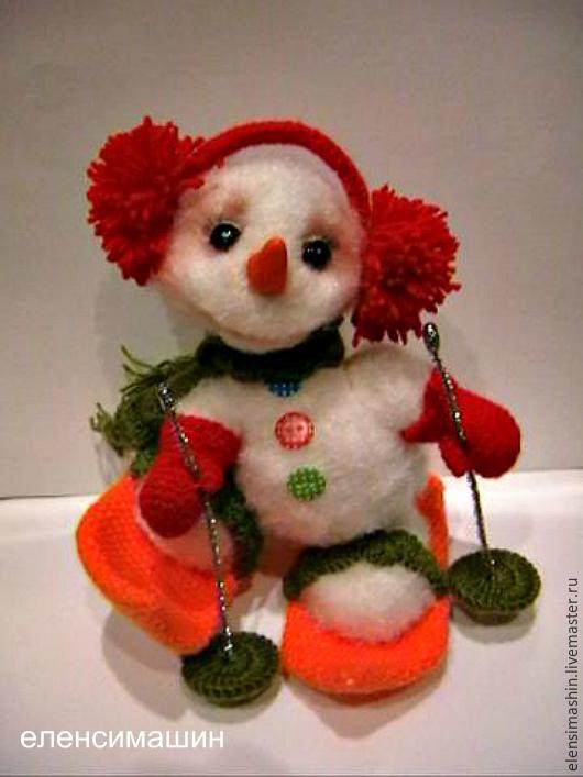 """Сказочные персонажи ручной работы. Ярмарка Мастеров - ручная работа. Купить МК """"Снеговуша"""". Handmade. Белый, авторская игрушка, проволока"""
