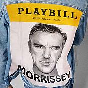 """Куртки ручной работы. Ярмарка Мастеров - ручная работа Джинсовка """"Стивен Моррисси"""". Handmade."""