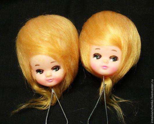 Куклы и игрушки ручной работы. Ярмарка Мастеров - ручная работа. Купить Винтажные кукольные головки ( куклы Бредли). Handmade.