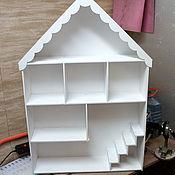 Кукольные домики ручной работы. Ярмарка Мастеров - ручная работа Кукольный домик на заказ. Handmade.