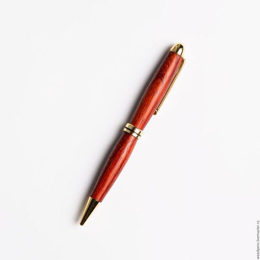 """Карандаши, ручки ручной работы. Ярмарка Мастеров - ручная работа. Купить Авторучка """" Падук """" СЛИМ. Handmade. Бордовый"""