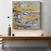 Картины и панно handmade. Livemaster - original item Interior painting abstraction Scandinavia. Handmade.