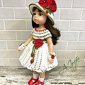 """Одежда для кукол ручной работы. Ярмарка Мастеров - ручная работа Летний комплект  """" Маки """". Handmade."""