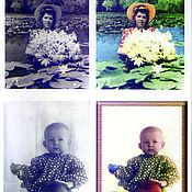 Дизайн и реклама ручной работы. Ярмарка Мастеров - ручная работа Фото из чёрно-белой в цветную. Handmade.