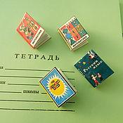 Куклы и игрушки ручной работы. Ярмарка Мастеров - ручная работа Школьные мини-учебники. Handmade.