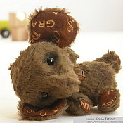 Куклы и игрушки ручной работы. Ярмарка Мастеров - ручная работа Ручной слоненок. Handmade.
