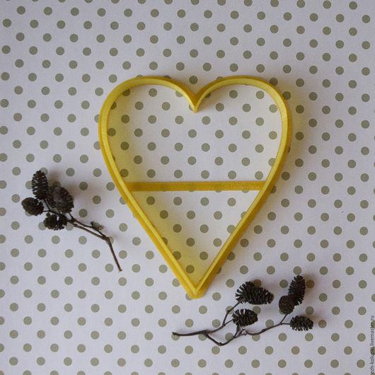 Кухня ручной работы. Ярмарка Мастеров - ручная работа. Купить Сердце-№171-13см Вырубка и штамп для печенья и пряников. Handmade.