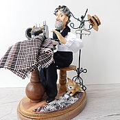 handmade. Livemaster - original item Author`s doll TAILOR. Handmade.