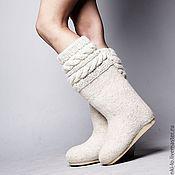 Обувь ручной работы handmade. Livemaster - original item Valenki