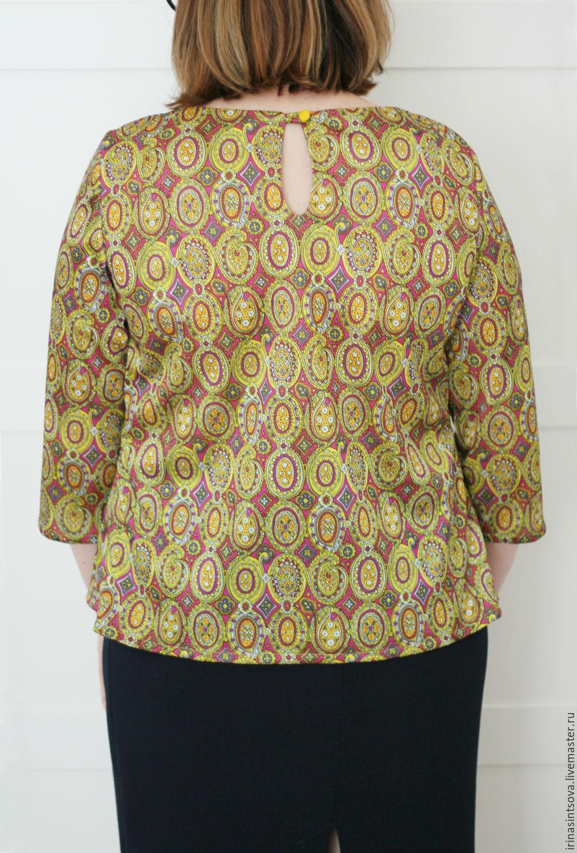 Блузки из ткани купить