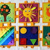 Для дома и интерьера ручной работы. Ярмарка Мастеров - ручная работа Массажно-развивающий коврик. Handmade.