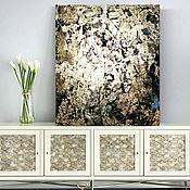 Картины и панно handmade. Livemaster - original item Modern decorative art panel in the interior, gold abstraction. Handmade.