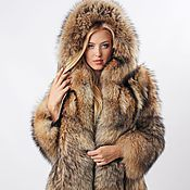 Одежда handmade. Livemaster - original item Real raccoon fur jacket / Real fur coat. Handmade.