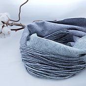 Аксессуары handmade. Livemaster - original item Felted scarf Snood Mint freshness. Handmade.