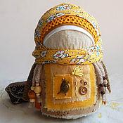 Куклы и игрушки ручной работы. Ярмарка Мастеров - ручная работа Девочка с цыпленком. Handmade.
